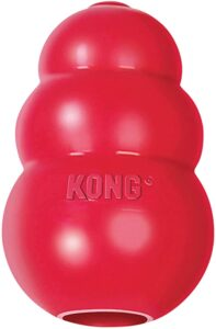 KONG - Classic Dog Toy, Durable Natural Rubber- Fun to Chew, Chase and Fetch